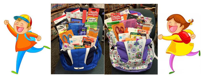 Backpack filled with school supplies WINNERS! – Jean Chan ...