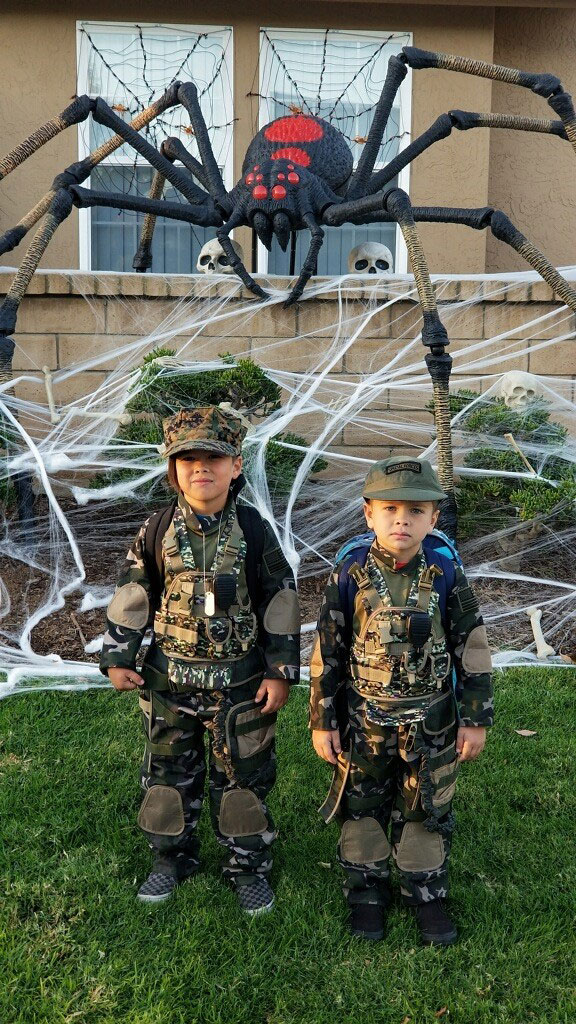 Army men-Sawyer G & Waylon G.