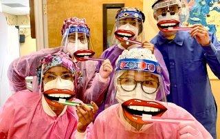 Healthy Grins Team Wearing Masks